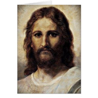 Christus met Medelevende Ogen Wenskaart