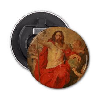 Christus Triumph over Dood en Zonde Button Flessenopener