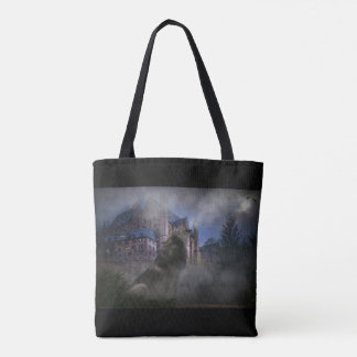 Chuchotement de minuit tote bag