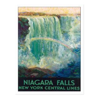 Chutes du Niagara New York Amérique Carte Postale