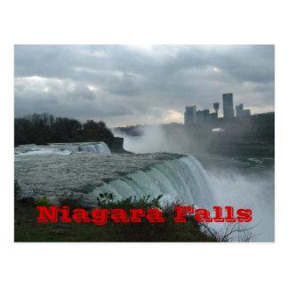 Chutes du Niagara (texte) Carte Postale