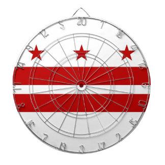 Cible avec le drapeau du Washington DC, Etats-Unis Cible De Fléchettes