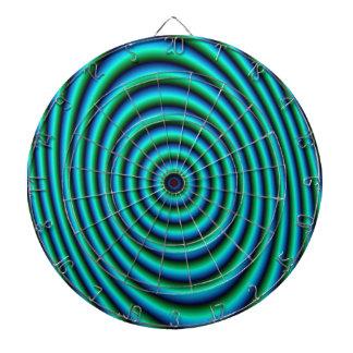 Cible De Fléchettes Anneaux de turquoise