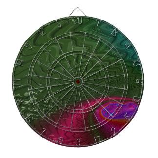 Cible De Fléchettes Crépuscule de fractale de vent