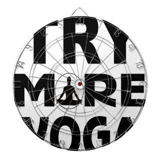 Cible De Fléchettes Essayez plus de yoga