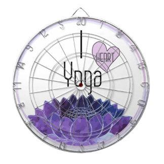 Cible De Fléchettes J'aime le yoga