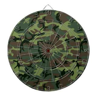 Cible De Fléchettes Motif vert de Camo Brown de camouflage