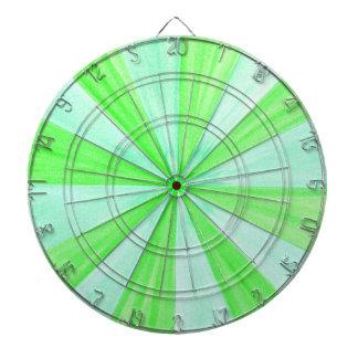 Cible De Fléchettes Nuances de cible géométrique verte de motif de