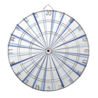 Cible De Fléchettes Panneau de dard bleu de rayon