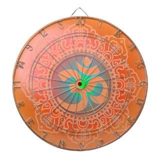 Cible De Fléchettes Panneau de dard de symbole d'OM