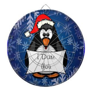 Cible De Fléchettes Pingouin de Noël
