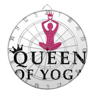 Cible De Fléchettes reine de couronne de yoga