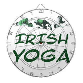 Cible De Fléchettes yoga lrish