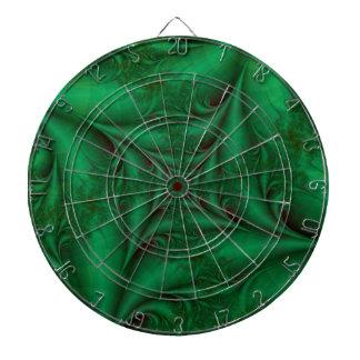 Cible en spirale carrée verte