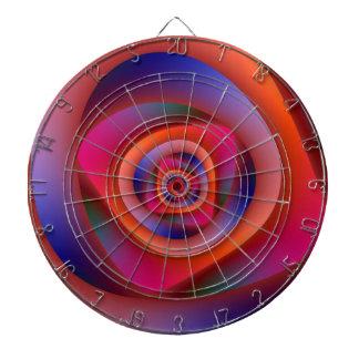 Cible en spirale psychédélique de labyrinthe