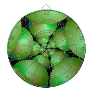 Cible verte de spirale de sphère