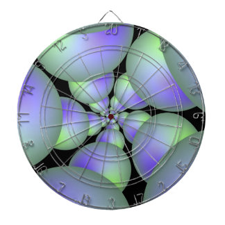 Cible verte et lilas de spirale de sphère