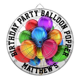 Cibles De Fléchettes Bouton-pression de ballon de fête d'anniversaire