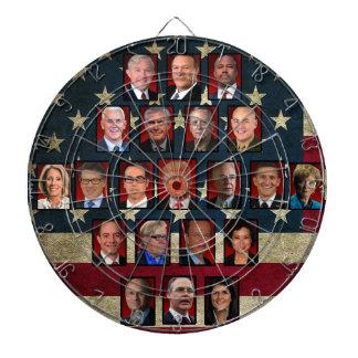 Cibles De Fléchettes Cabinet de la Maison Blanche de l'atout