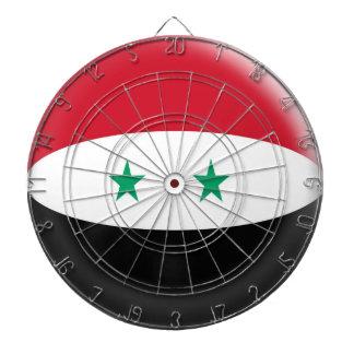 Cibles De Fléchettes Cible avec le drapeau de Syrien de la Syrie de 6