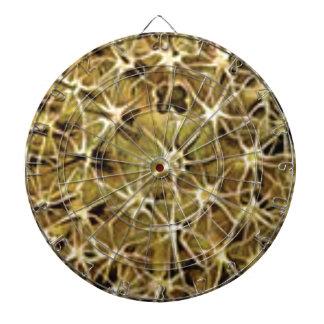 Cibles De Fléchettes connexions de cerveau visualisées