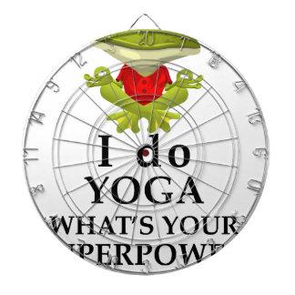 Cibles De Fléchettes je fais le yoga quel s votre super pouvoir
