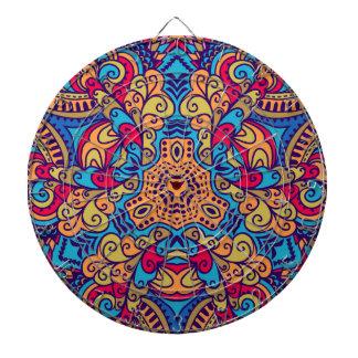 Cibles De Fléchettes Kaléidoscope rêveur indien