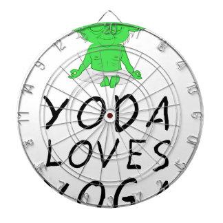 Cibles De Fléchettes le yoga aime le yoga