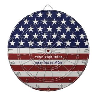 Cibles De Fléchettes Les Etats-Unis drapeau américain coutume