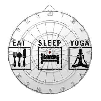 Cibles De Fléchettes mangez le yoga de sommeil