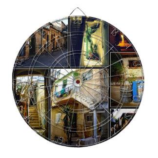 Cibles De Fléchettes Nahala'ot ravit le collage du panneau de dard 01