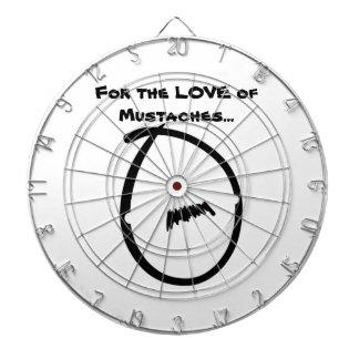 Cibles De Fléchettes Panneau de dard de moustache