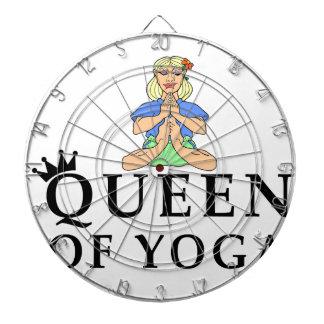 Cibles De Fléchettes reine de yoga