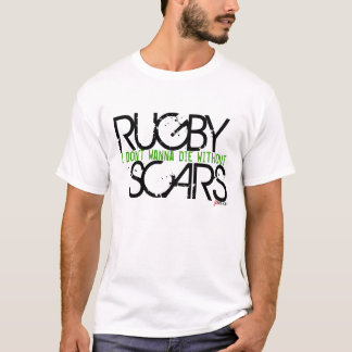 Cicatrices de rugby t-shirt
