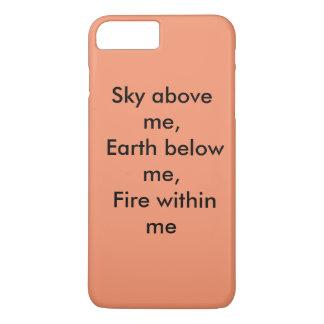 Ciel au-dessus de moi, la terre au-dessous de moi, coque iPhone 8 plus/7 plus