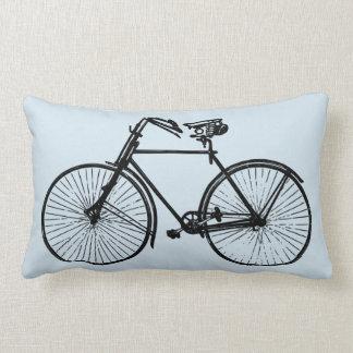 ciel bleu de vélo de bicyclette de carreau de coussin rectangle