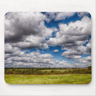 Ciel de campagne tapis de souris
