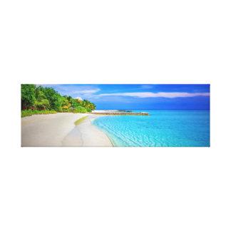 Ciel de la plage | de l'océan | des tropiques | toile