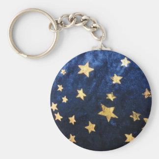 Ciel nocturne étoilé porte-clés