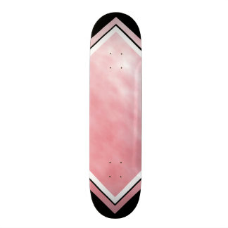 Ciel opale rose et plate-forme personnalisable skateboard