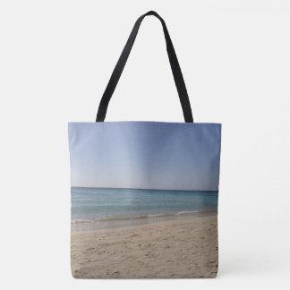 Ciel Sandy de plage Tote Bag