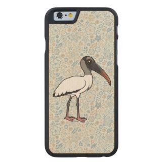 Cigogne en bois de Birdorable Coque Mince En Érable iPhone 6