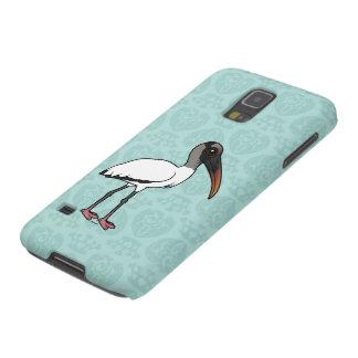 Cigogne en bois de Birdorable Protection Galaxy S5