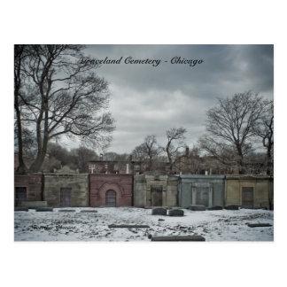 Cimetière de Graceland de cartes postales -