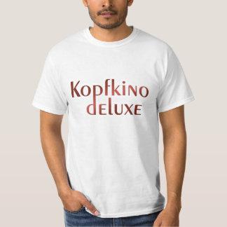 «Cinéma de tête Deluxe» Shirt pour des messieurs T-shirt