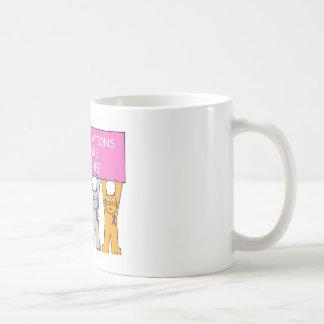 Cinq ans de cancer libèrent l'anniversaire mug