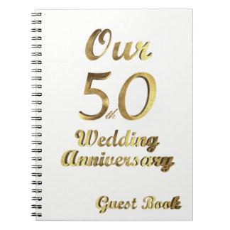 cinquantième Blanc d'or de livre d'invité