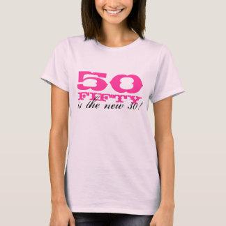 cinquantième Le T-shirt d'anniversaire pour des