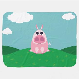 Circonspect le porc couverture de bébé