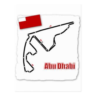 Circuit de généraliste d'Abu Dhabi Carte Postale